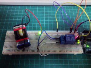 Relais Test-Stromkreis 2