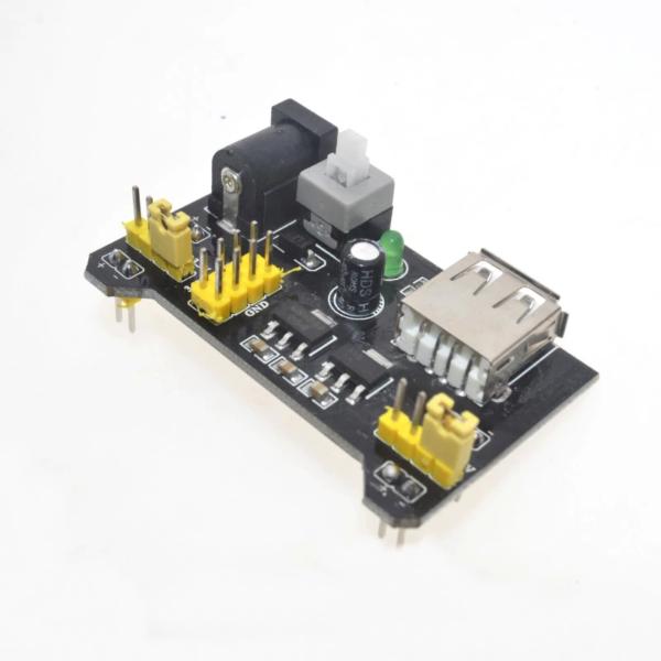 HW131 - Netzteil Adapter für Breadboard MB102