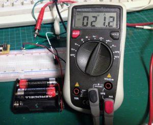 ME2108 Stromverbrauch bei 3V