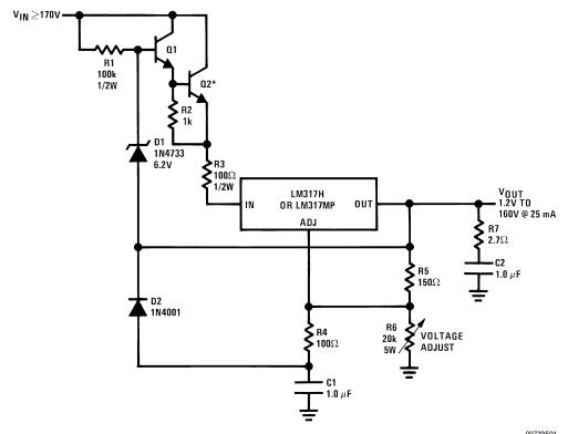 LM317-High Voltage