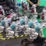 Roboter-Fussballturnier (3-3)